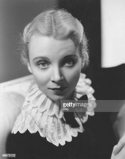 American actress and singer Virginia Bruce circa 1935