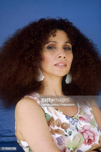 American actress and soprano singer Julia Migenes attends the 1985 Cannes Film Festival