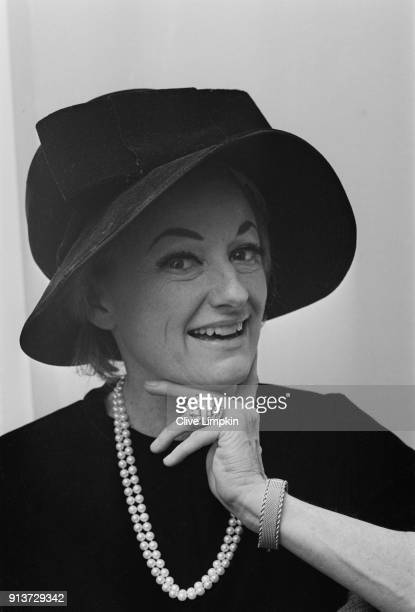 American actress and standup comedienne Phyllis Diller UK 26th January 1968