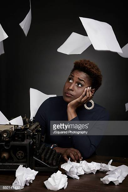 American actress and writer Issa Rae for Emmy Magazine on March 12 2016 in Los Angeles California PUBLISHED IMAGE