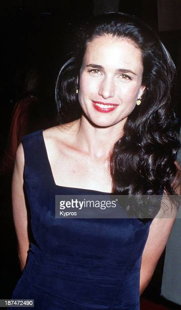 American actress Andie MacDowell circa 1991