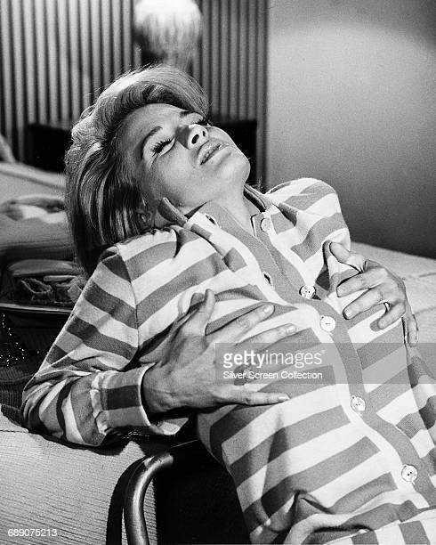 American actress Angie Dickinson as Chris in the film 'Point Blank' 1967