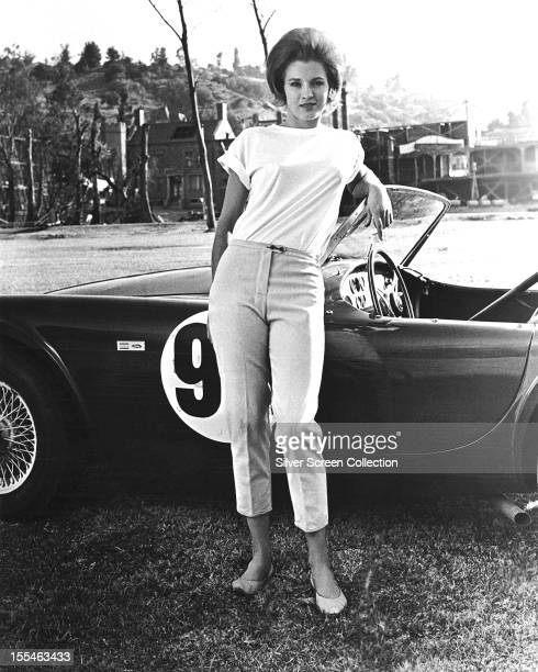 American actress Angie Dickinson as Sheila Farr in 'The Killers' directed by Don Siegel 1964