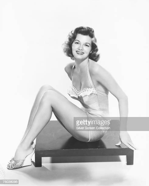American actress Angie Dickinson circa 1955