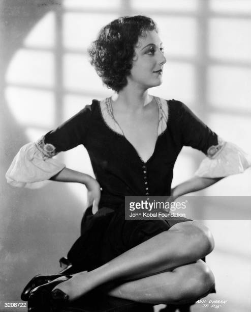 American actress Ann Dvorak plays Cesca the sister of violent gangster Tony Camonte in 'Scarface' directed by Richard Rosson and Howard Hawks