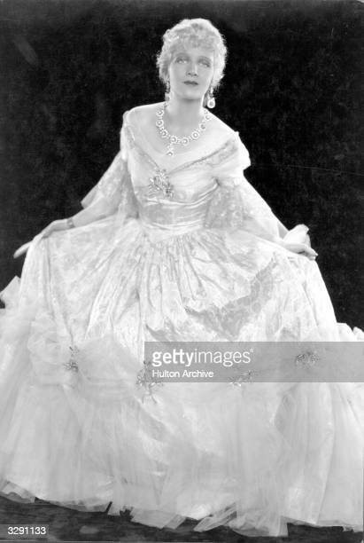 American actress Ann Harding in her wedding dress for the film 'East Lynne' Title East Lynne Studio TCF Director Frank Lloyd