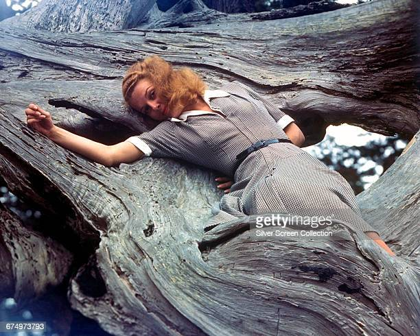 American actress Ann Sheridan as Karen Stensgard on the set of the film 'Edge of Darkness' 1943