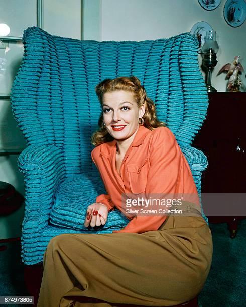 American actress Ann Sheridan circa 1945
