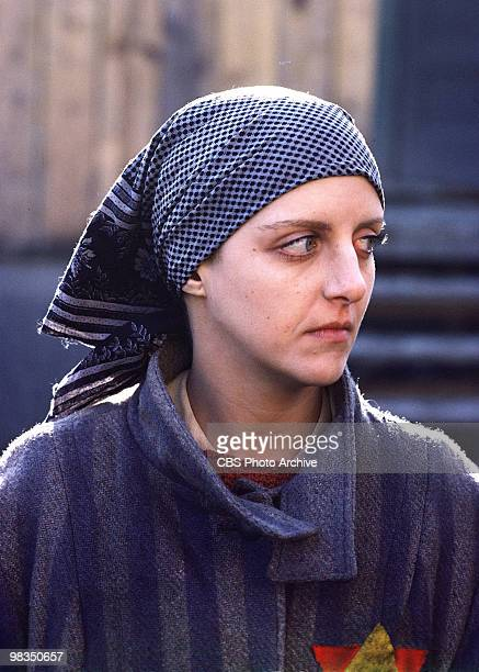 American actress Anna Levine in a scene from the madefortelevsion film 'Playing for Time' Annville Pennsylvania 1980 It was originally broadcast on...