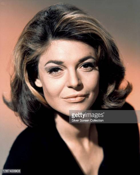 American actress Anne Bancroft as Mrs Robinson in a publicity shot for the film 'The Graduate', 1967.