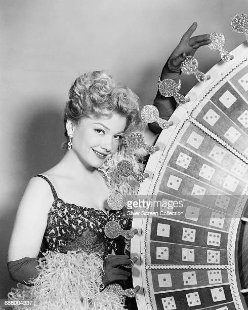 American actress Anne Baxter as Tacey Cromwell in a publicity still for the film 'One Desire' 1955