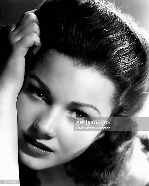 American actress Anne Baxter circa 1945
