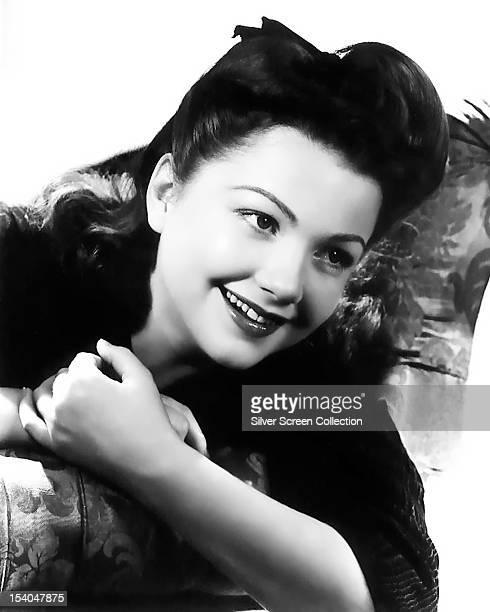 American actress Anne Baxter circa 1945