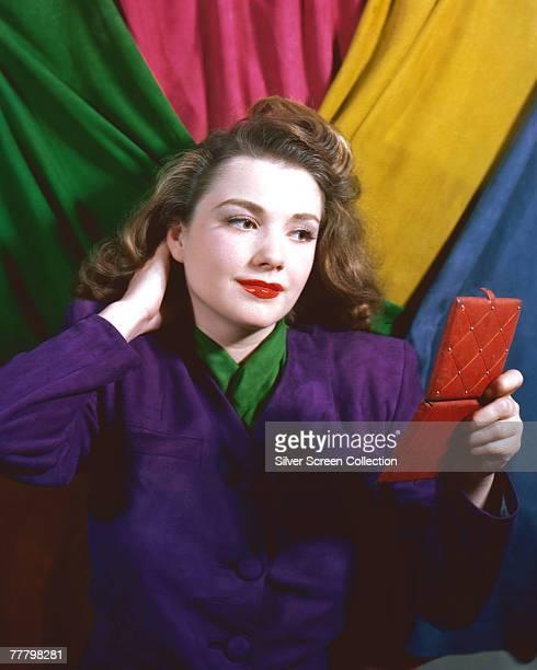 American actress Anne Baxter circa 1955