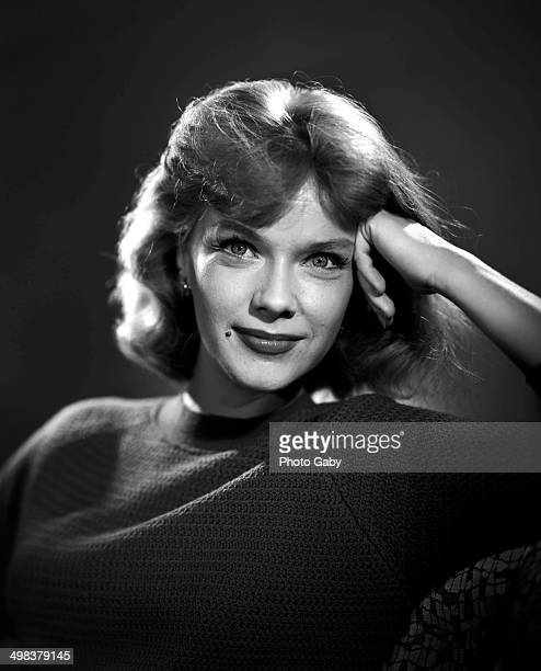 American actress Anne Francis Los Angeles 1963