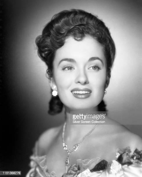 American actress ans singer Ann Blyth circa 1955