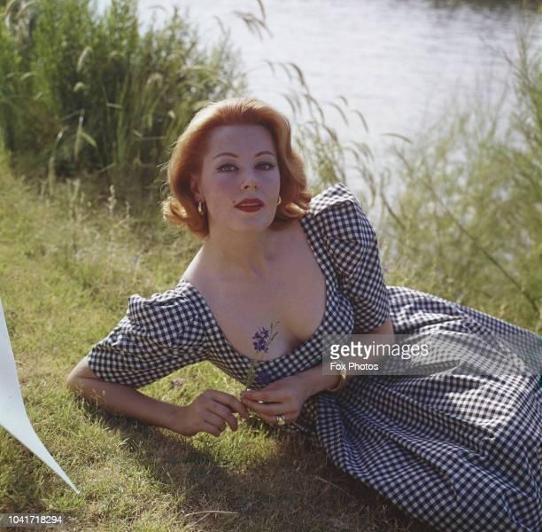 American actress Arlene Dahl circa 1955