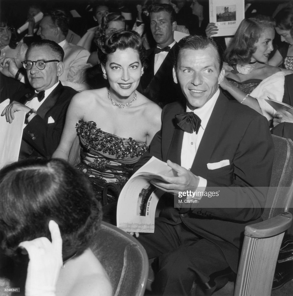 American Actress Ava Gardner And Her Husband American