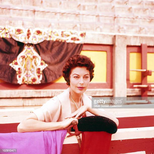 American actress Ava Gardner as Lady Brett Ashley in 'The Sun Also Rises' 1957