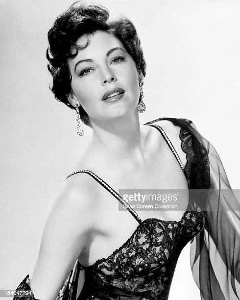 American actress Ava Gardner , circa 1950.