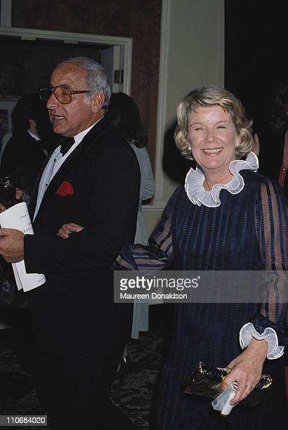 American actress Barbara Bel Geddes attends the 38th Golden Globe Awards in Beverly Hills, 31st January 1981.