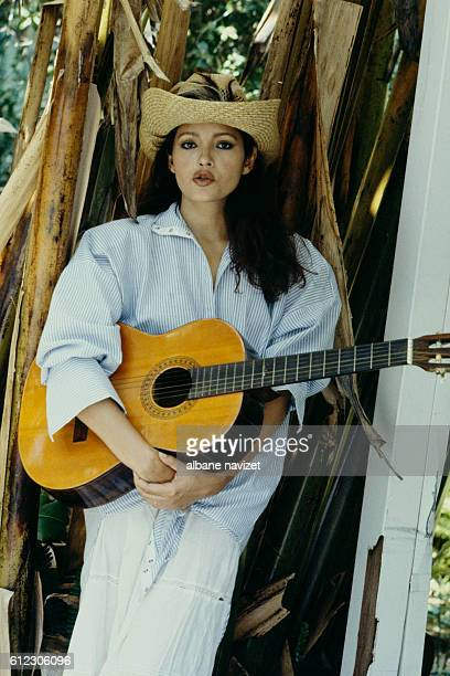 American actress Barbara Carrera