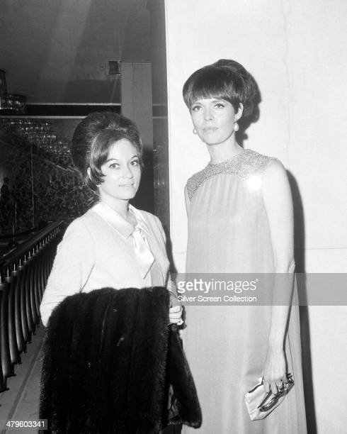 American actress Barbara Feldon at the 18th Emmy Awards at the Hollywood Palladium Los Angeles 22nd May 1966