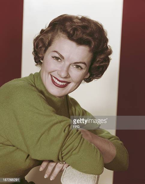 American actress Barbara Hale circa 1965 She is best known for her role as legal secretary Della Street on the television series 'Perry Mason'