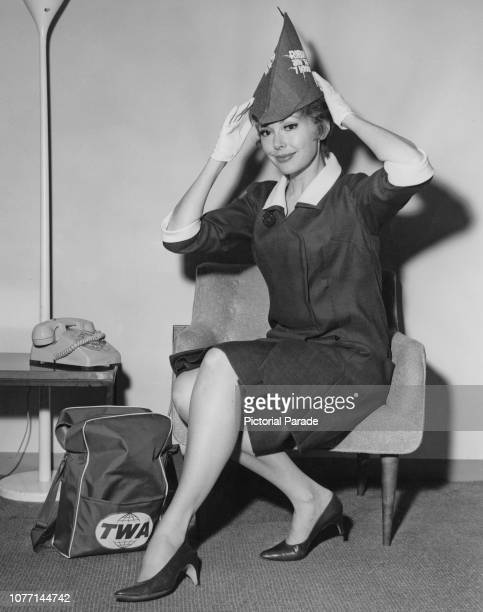 American actress Barbara Rush arrives at John F Kennedy International Airport in New York City from Los Angeles via TWA Starstream to promote her new...