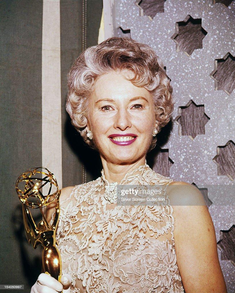 Stanwyck Wins Emmy : News Photo