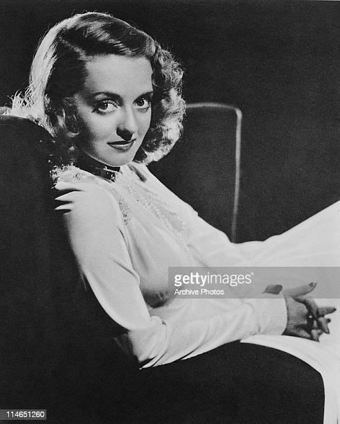 American actress Bette Davis circa 1935