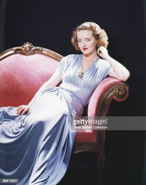 American actress Bette Davis circa 1940