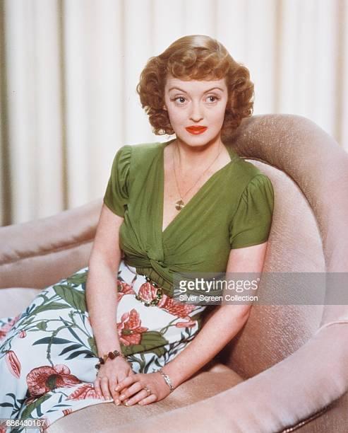American actress Bette Davis circa 1945