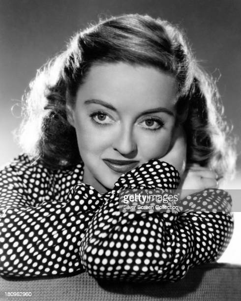 American actress Bette Davis in a promotional portrait for 'Payment On Demand' directed by Curtis Bernhardt 1951