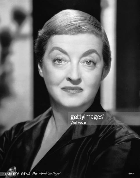 American actress Bette Davis who had four husbands and three children