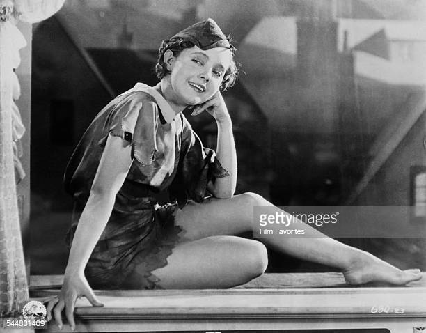 American actress Betty Bronson as the eponymous hero of the film 'Peter Pan' 1924 The film was based on the play by J M Barrie