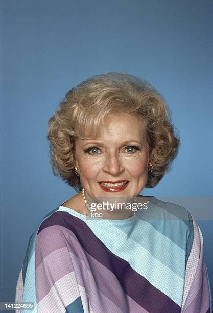 American actress Betty White 22nd April 1985. She plays as Rose Nylund in the sitcom 'The Golden Girls'. Photo by: Herb Ball/NBCU Photo Bank