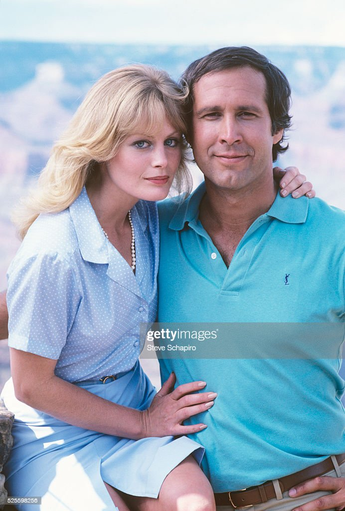 Chevy Chase and Beverly D'Angelo : News Photo