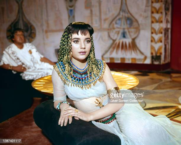 American actress Brigid Bazlen as Salome in the biblical epic film 'King of Kings', 1961.