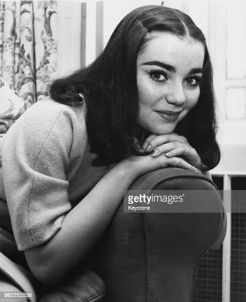 American actress Brigid Bazlen attends a reception in London shortly before the London premiere of the film 'King of Kings' 7th November 1961 She...