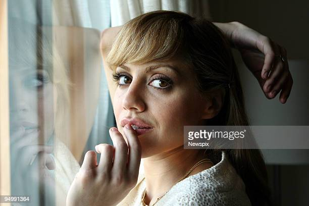 American actress Brittany Murphy poses on December 11, 2006 in Sydney, Australia.