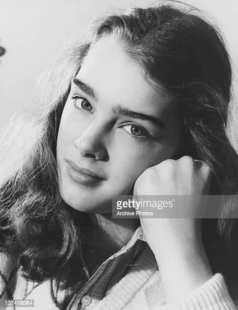 American actress Brooke Shields circa 1980
