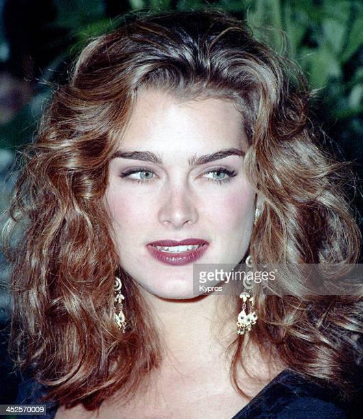 American actress Brooke Shields circa 1992