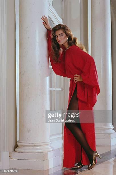 American actress Brooke Shields