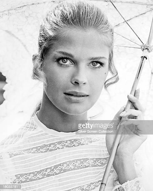 American actress Candice Bergen circa 1968