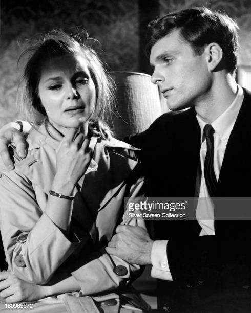 American actress Carol Lynley as Ann Lake and American actor Keir Dullea as Stephen Lake in 'Bunny Lake Is Missing', directed by Otto Preminger, 1965.