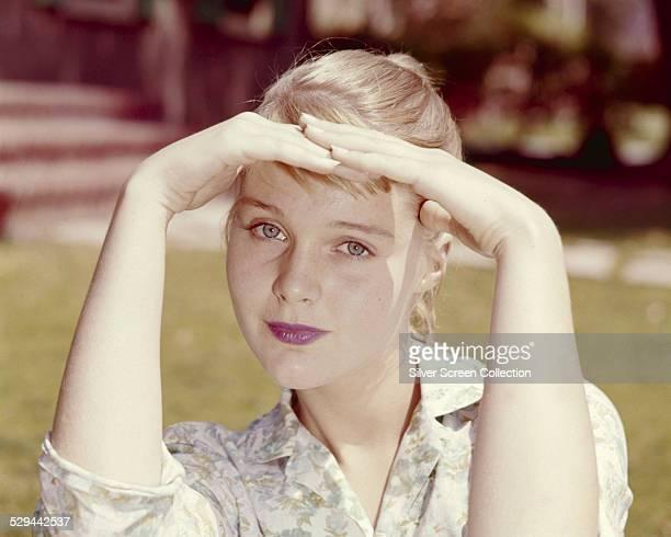 American actress Carol Lynley, circa 1957.