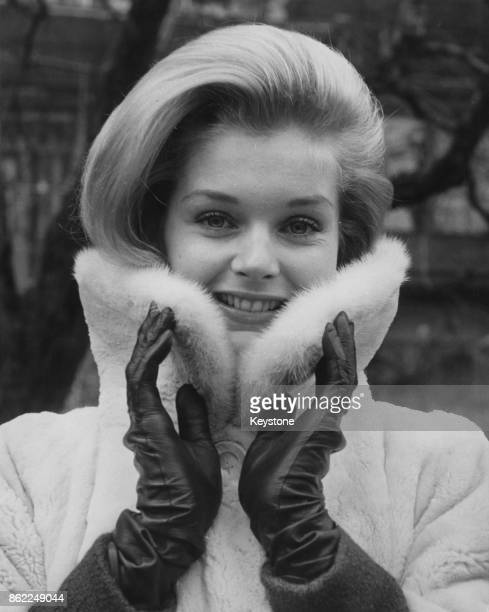 American actress Carol Lynley in London for the premiere of her latest film 'The Cardinal' 16th December 1963