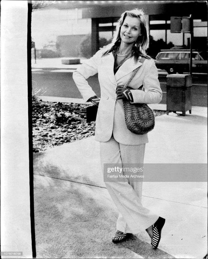 American Actress Carol Lynley Star Of The Movie Poseidon