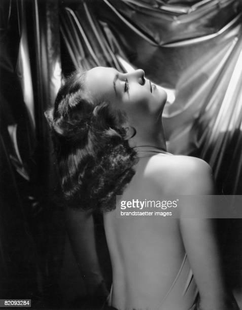 American actress Carole Lombard, Photograph, Around 1930 [Die US-amerikanische Schauspielerin Carole Lombard, Photographie, Um 1930]